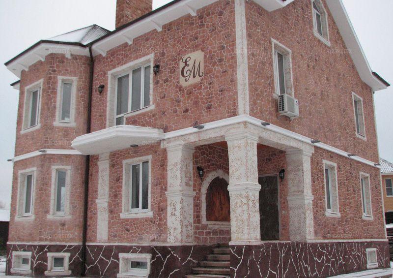 фото жидкого фасада